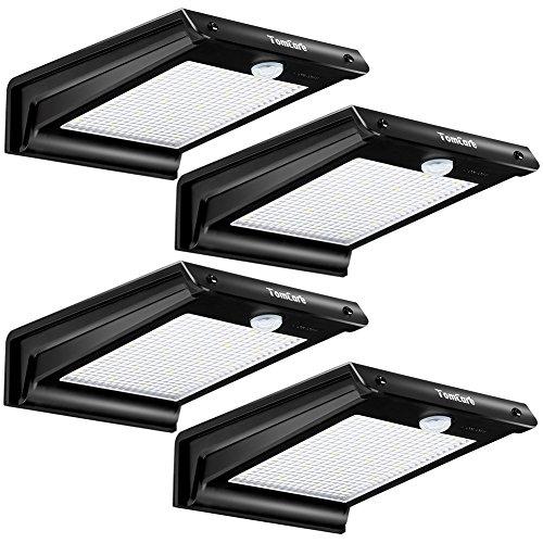 20 led solar lights solar motion sensor outdoor light solar powered wireless waterproof exterior security wall light for