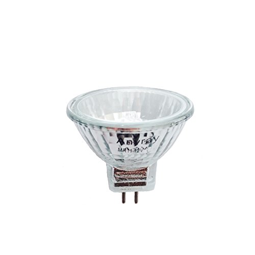 anyray a2003y 1 bulb clear mr11 6 volt 5 watt fiber optic christmas trees light bulb 5w 6v