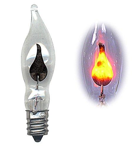 National Artcraft Flicker Flame Light Bulb Dances With A