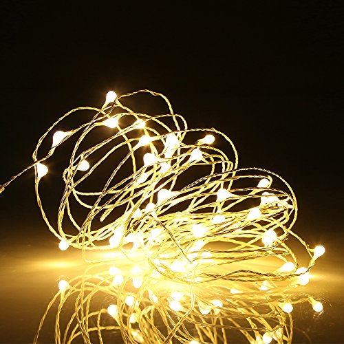 Ehome 100 LED 33ft/10m Starry Fairy String Light, Waterproof ...