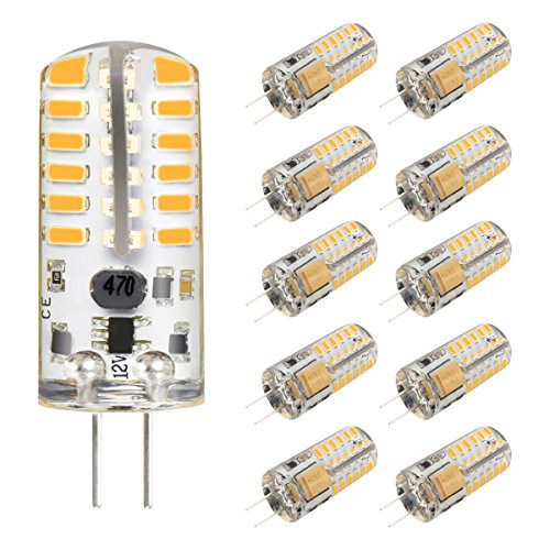 5 210lm Dc Lamp White Pack Le G4 Ac360 Warm Led 12v Bulb 2w TclFKu1J35