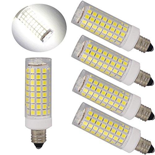 e11 led bulbs mini dimmable candelabra base t4 t3 jd type clear e11 light bulbs 60w or 75w. Black Bedroom Furniture Sets. Home Design Ideas