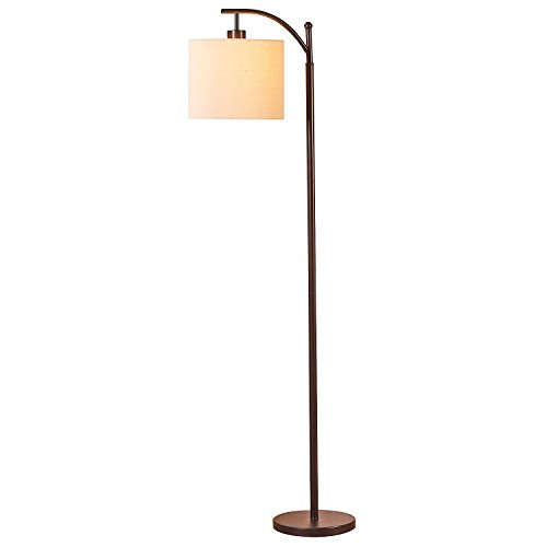 Brightech Trilage Led Floor Lamp Tall Pole Modern Industrial