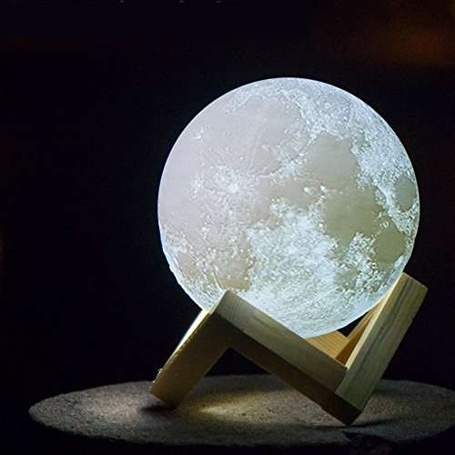 3d Printing Moon Lamp Christmas Decorations For Home