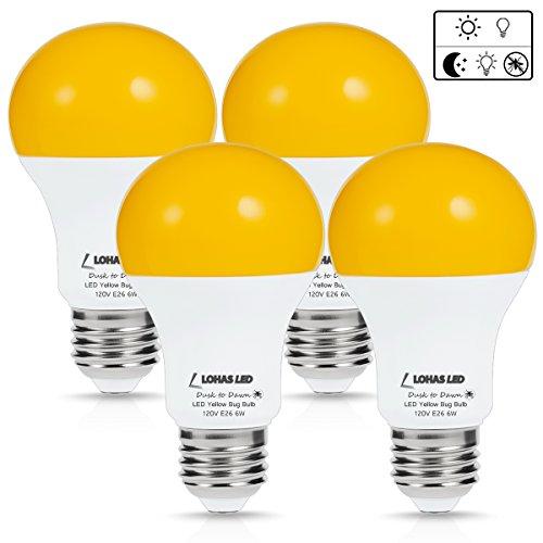 Lohas Bug Light Bulb Yellow Led Bulbs Outdoor Porch