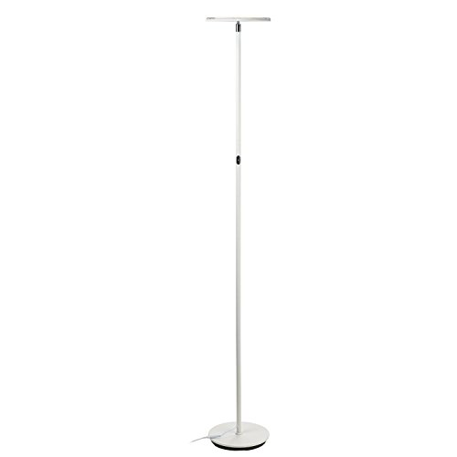 Brightech Sky 30 Flux Led Torchiere Floor Lamp Dimmable Amp Adjustable Color Temperature