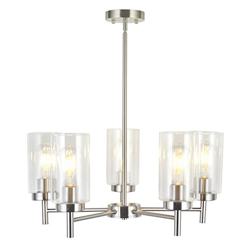 Modern Style   This Modern Pendant Lighting With High Clear Glass Shades, Dining  Room, Living Room, Itu0027s The Perfect Ceiling Light To Install In Bedroom, ...