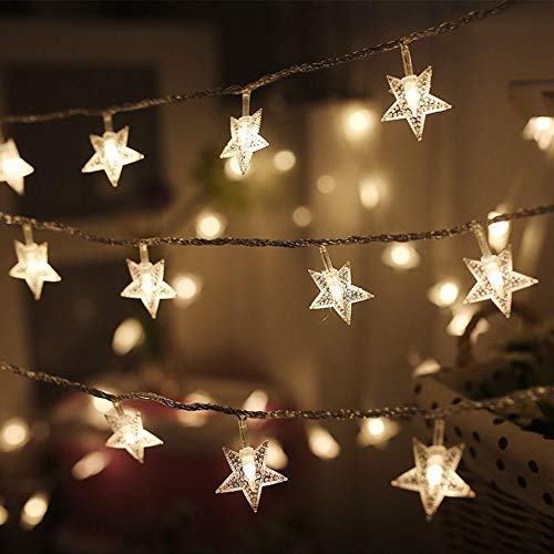 Twinkle Star 100 Led 49 Ft Star String Lights Plug In