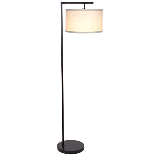 With Led Bulb Jet Black Pole Hanging Light To Stand Up Over The Sofa Brightech Hudson 2