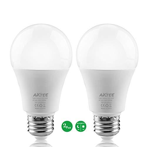 Smart Light Bulb Dusk To Dawn Sensor Led Light Bulbs Indoor  Outdoor E26 Base Socket Auto On  Off
