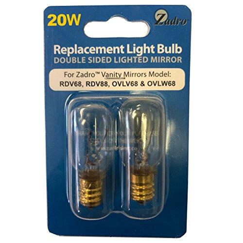 20 Watt Replacement Light Bulb For Zadro Ovlw68 Ovlw68